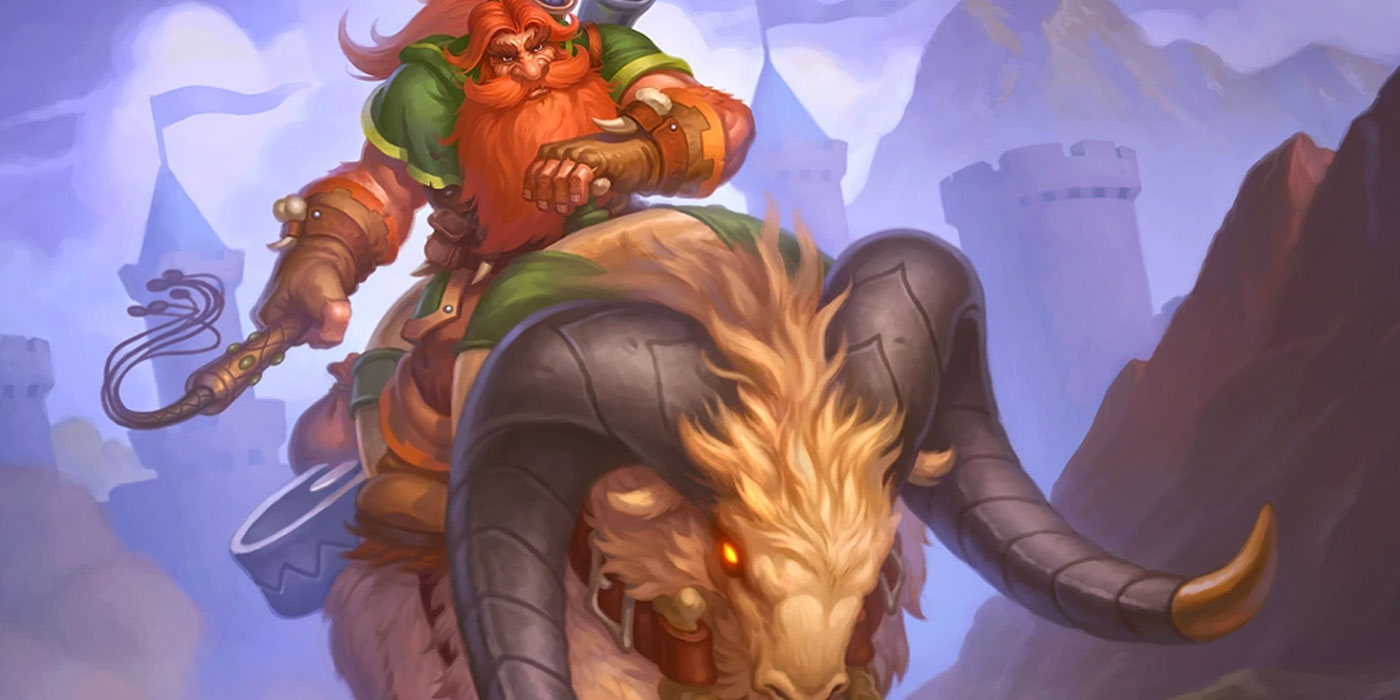 Ramming Mount is Banned in Hearthstone's Arena, Offering Rates Adjusting for Balance