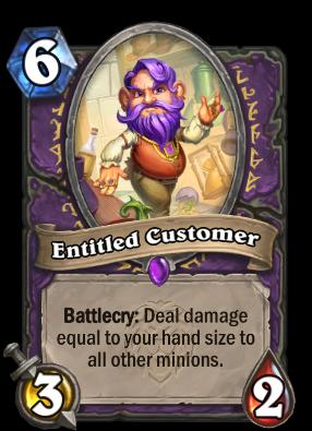 Entitled Customer Card Image