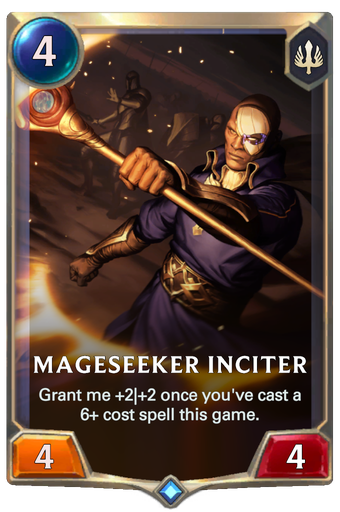 Mageseeker Inciter Card Image