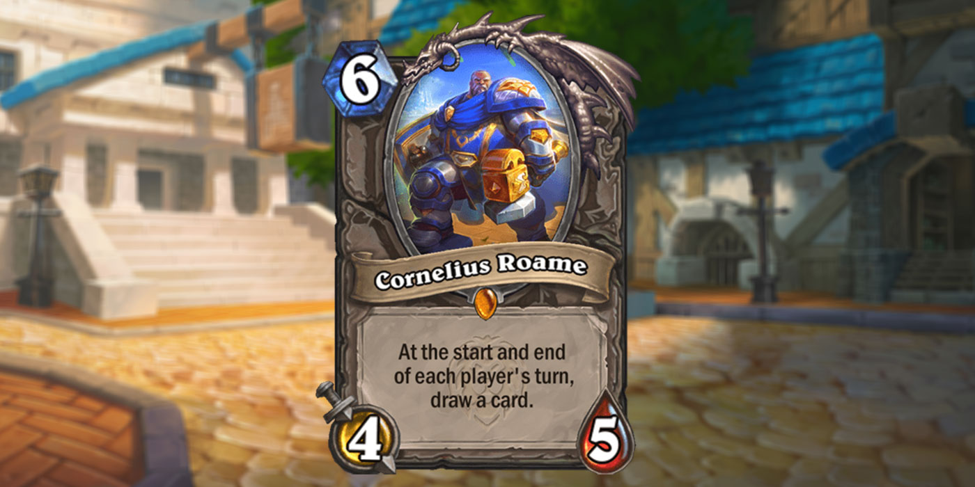 New Legendary Card Revealed for United in Stormwind by Trolden - Cornelius Roame