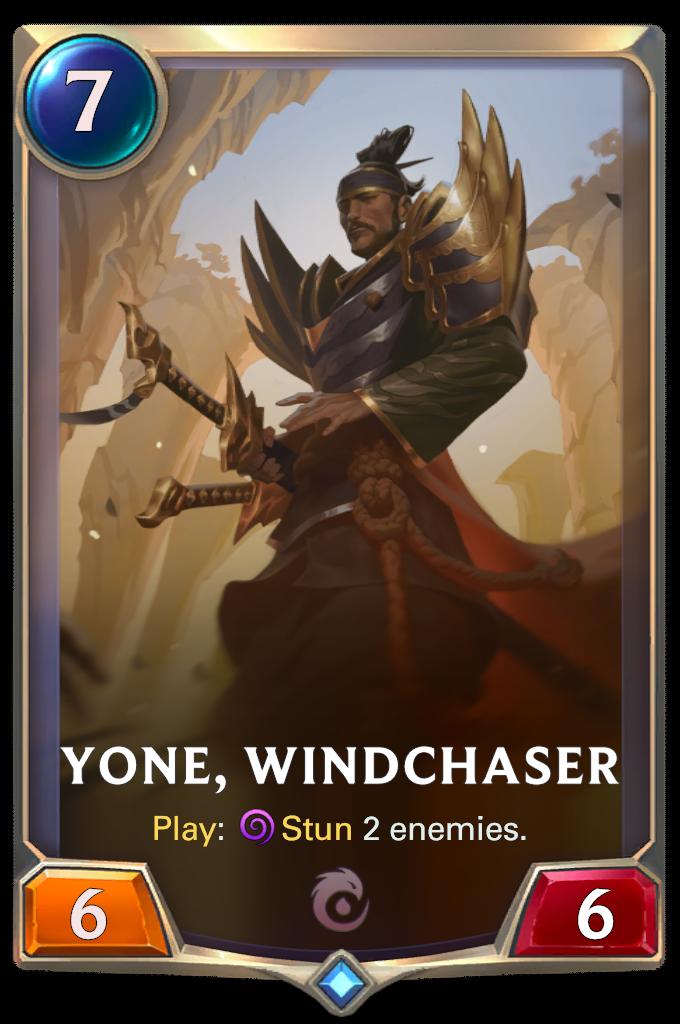 Yone, Windchaser Card Image