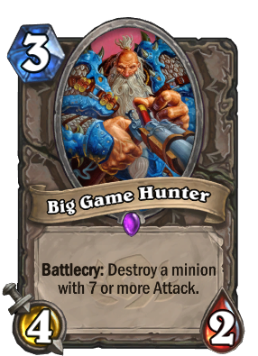 Big Game Hunter Card Image
