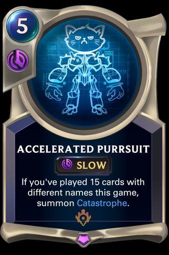 Accelerated Purrsuit Card Image