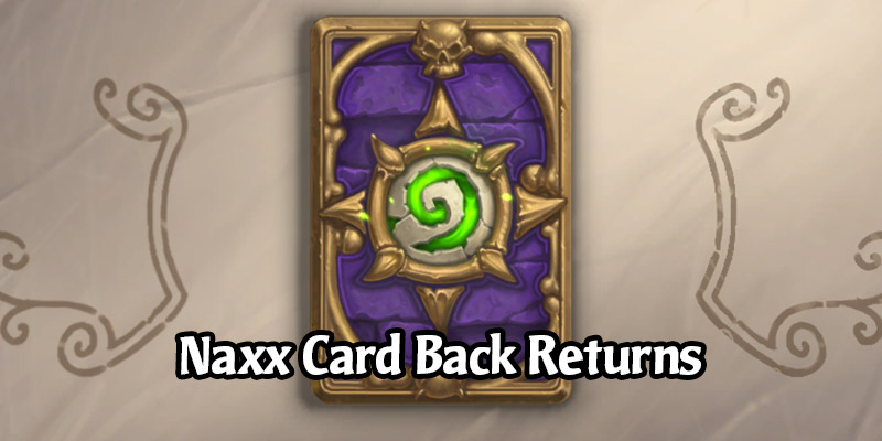 The Naxxramas Card Back (July 2014 Ranked Reward) is Now Available in the Hearthstone Shop