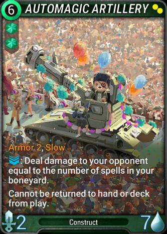 Automagic Artillery Card Image