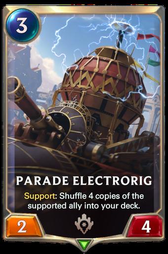 Parade Electrorig Card Image