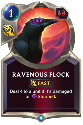 Ravenous Flock Card Image
