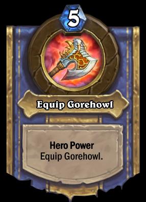 Equip Gorehowl Card Image