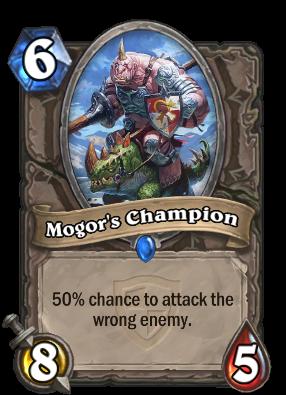 Mogor's Champion Card Image