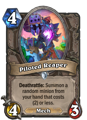 Piloted Reaper Card Image