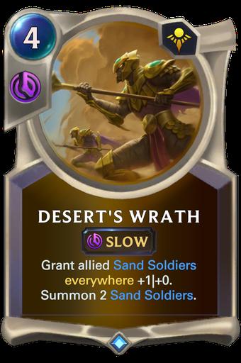 Desert's Wrath Card Image