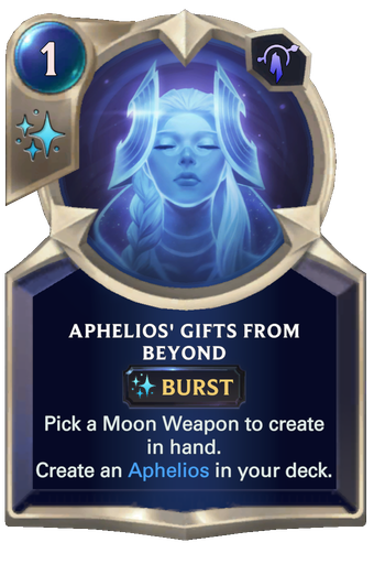 Aphelios' Gifts From Beyond Card Image