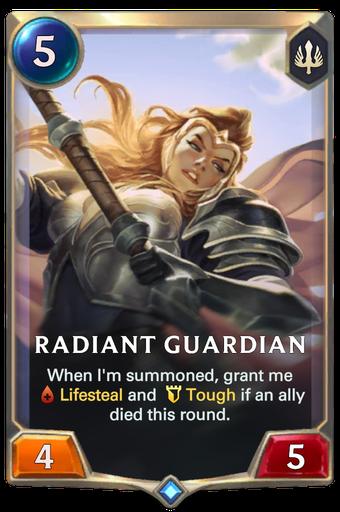 Radiant Guardian Card Image