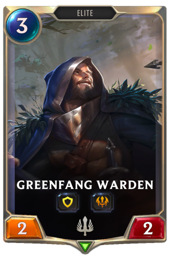 Greenfang Warden Card Image