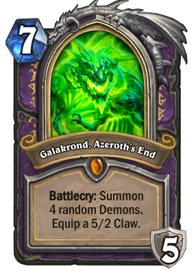 Galakrond, Azeroth's End Card Image
