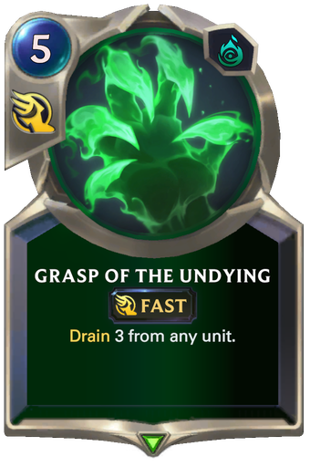 Grasp of the Undying Card Image