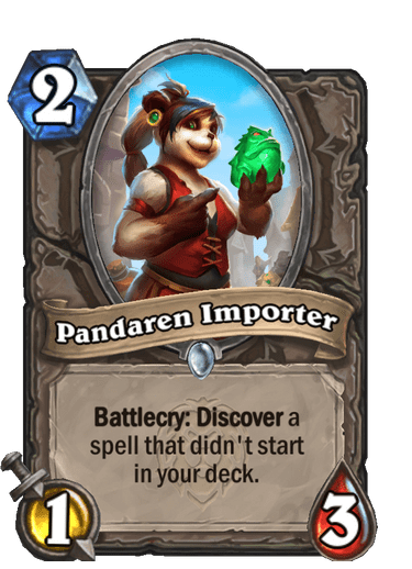 Pandaren Importer Card Image