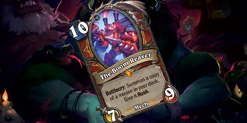 New Warrior Legendary - The Boom Reaver