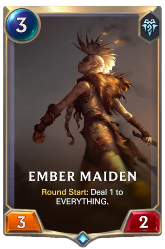 Ember Maiden Card Image