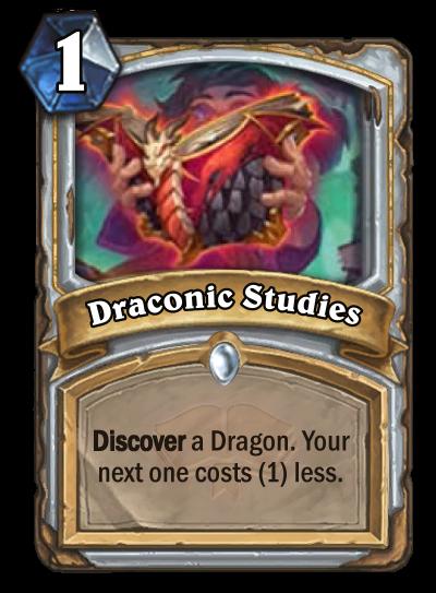 Draconic Studies Card Image