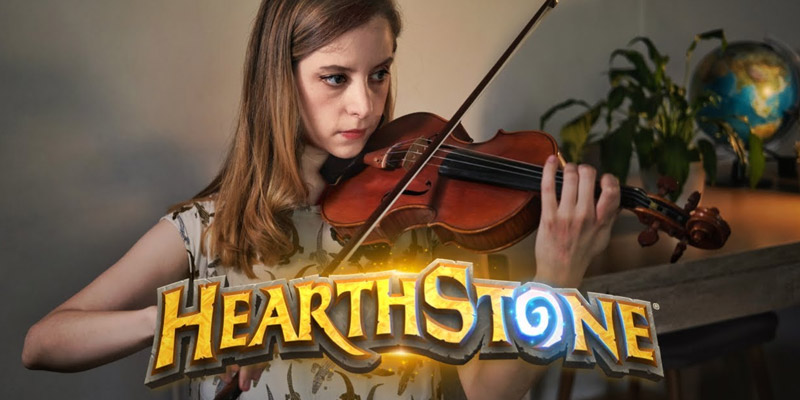 Enjoy Hearthstone's Main Theme Played on a Violin
