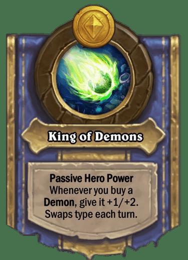 King of Demons Card Image
