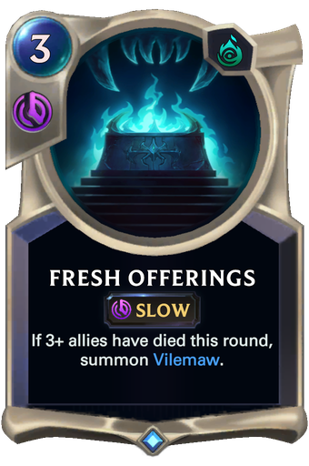Fresh Offerings Card Image