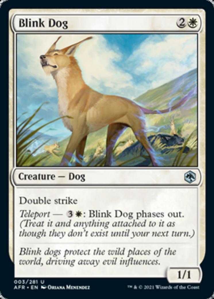 Blink Dog Card Image