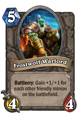 Frostwolf Warlord Card Image