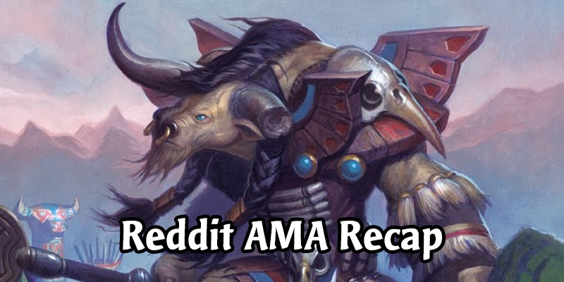 Upcoming Heroes, The Classic Set and More - Everything Else from the Hearthstone Reddit AMA