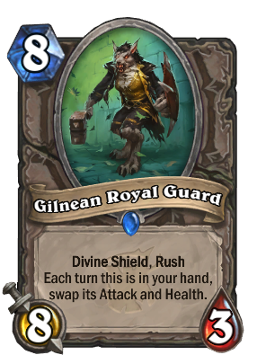Gilnean Royal Guard Card Image