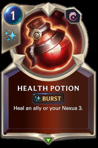 Health Potion Card Image
