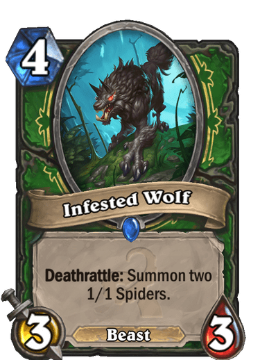 Infested Wolf Card Image