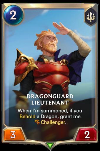 Dragonguard Lieutenant Card Image