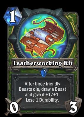 Leatherworking Kit Card Image