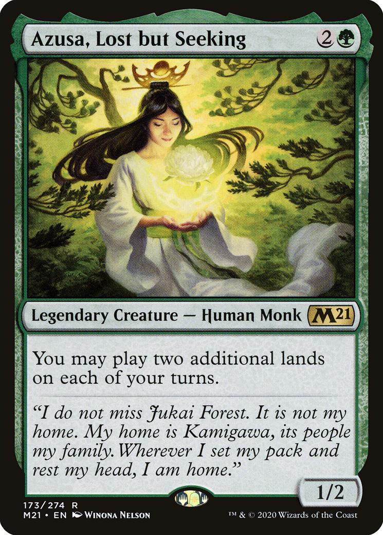 Azusa, Lost but Seeking Card Image