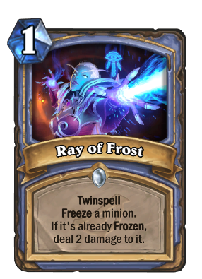 Ray of Frost Card Image