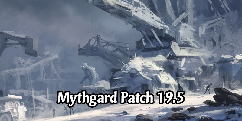 Mythgard Patch 19.5 - The Winter War Starter Bundle, Ranked Ends January 25, Regional Pricing