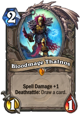 Bloodmage Thalnos Card Image
