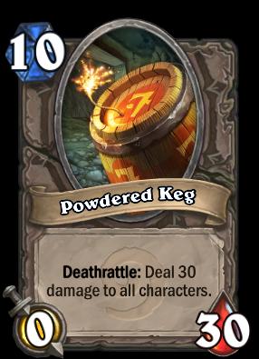 Powdered Keg Card Image