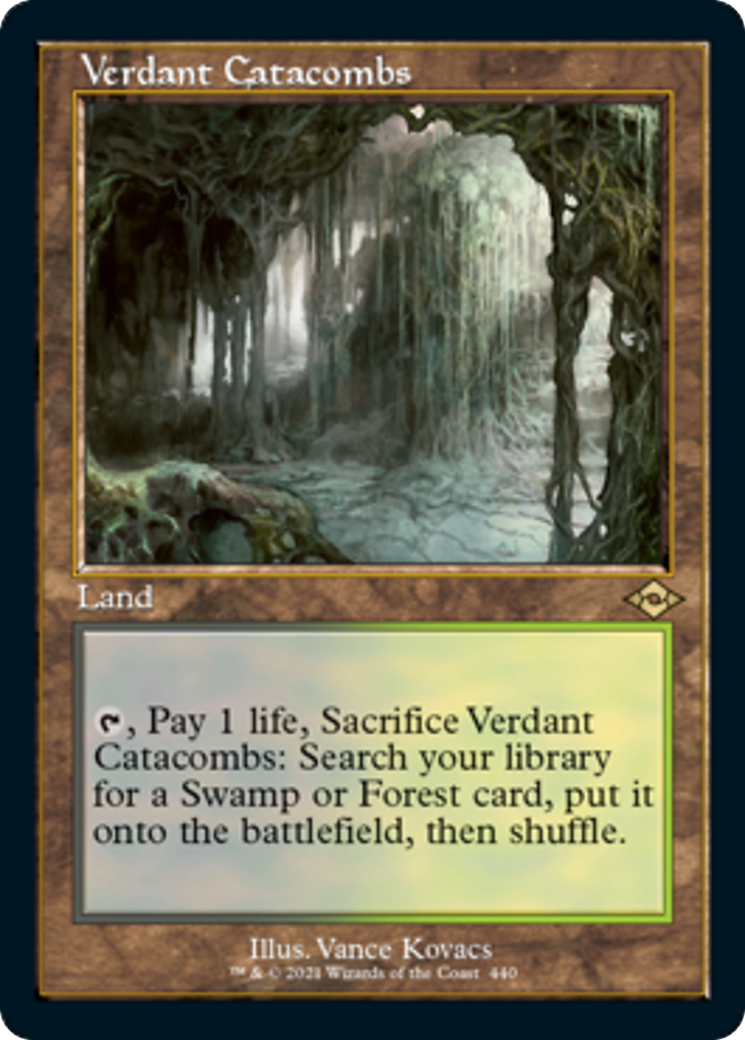 Verdant Catacombs Card Image