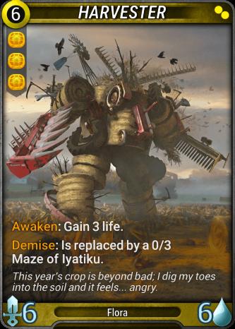 Harvester Card Image