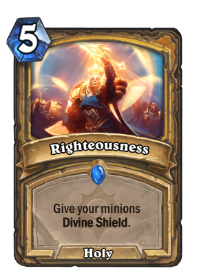 Righteousness Card Image
