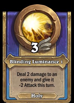 Blinding Luminance 1 Card Image