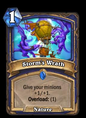 Storm's Wrath Card Image