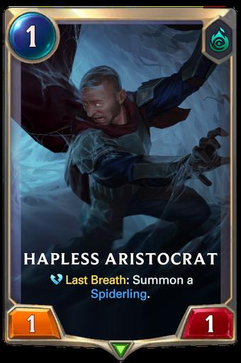 Hapless Aristocrat Card Image