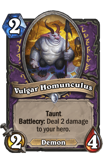 Vulgar Homunculus Card Image
