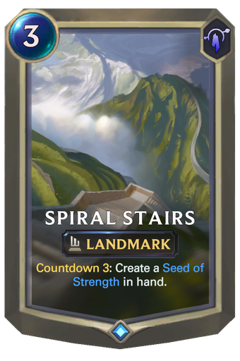 Spiral Stairs Card Image