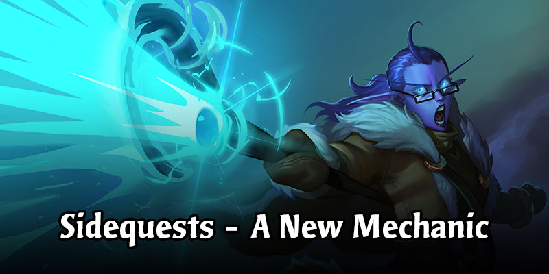 Take On A Sidequest - A New Mechanic in Descent of Dragons