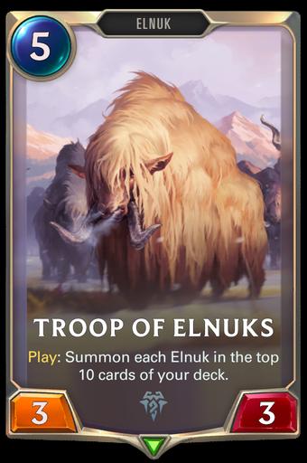 Troop of Elnuks Card Image